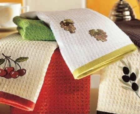 Советы по уходу за кухонными полотенцами