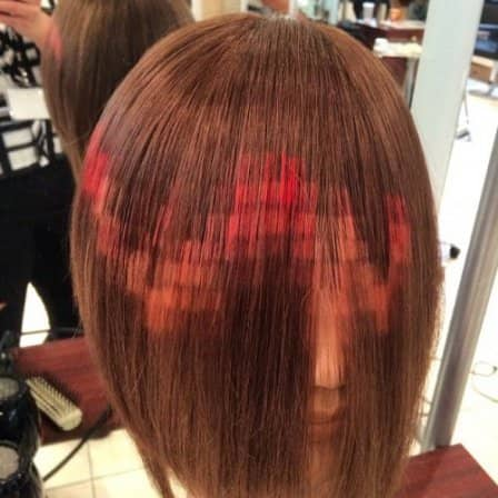 Новый тренд: пиксельное окрашивание волос