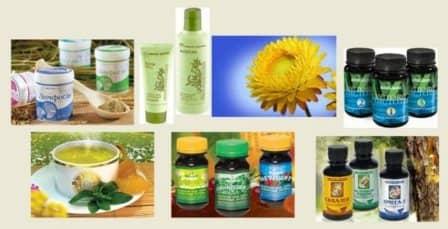 Натуральные продукты для здоровья и красоты