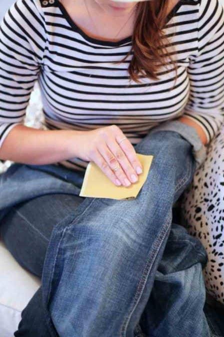 Как сделать рваные джинсы в домашних условиях + видео
