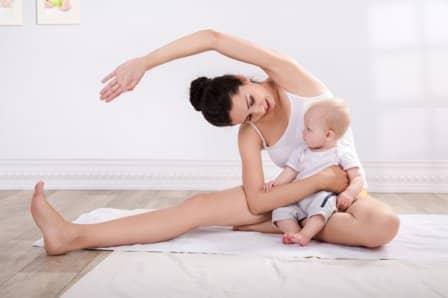 Гимнастика после родов + видео