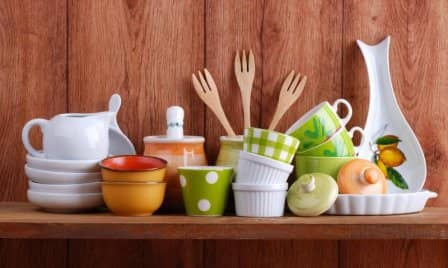 Посуда в доме