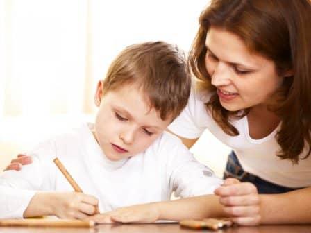 Как научить ребенка письму