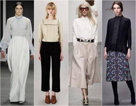Модные блузки 2016 года - фото