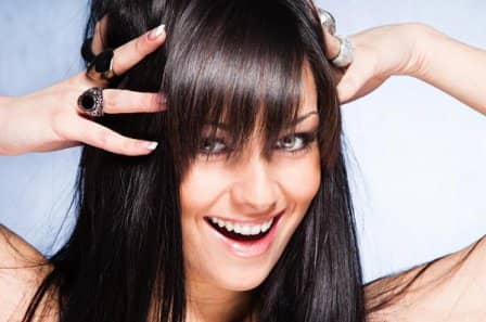 Блестящие волосы без шампуня