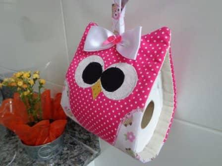 Держатель для туалетной бумаги - интересные идеи