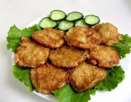 Вафельные бризольки (рецепт с фото)