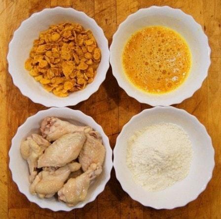 Крылышки а-ля KFC (рецепт с фото)