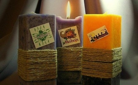 Использование свечей ручной работы в домашней магии