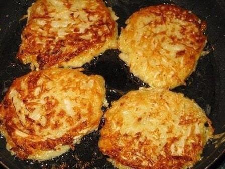 Капустные оладушки на кефире (рецепт с фото)