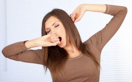 Причины зевоты у взрослого человека