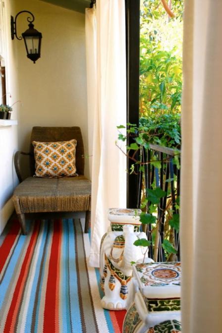 Варианты дизайна балкона