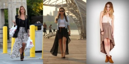 Как выбрать и носить асимметричную юбку?