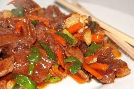 Мясо по-тайски