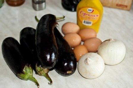 Салат из баклажанов (рецепт с фото)