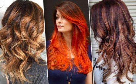 Модное окрашивание волос - балаяж