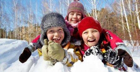Зимние каникулы школьников