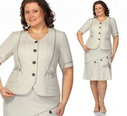 Пиджаки для полных женщин - делаем правильный выбор