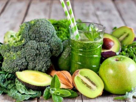 Зеленая диета: безопасное похудение и детокс
